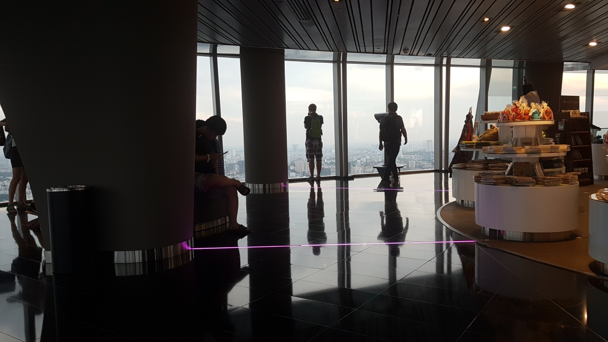 Inside Bitexco Financial Tower