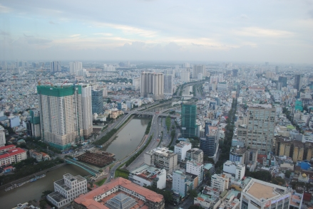 Daylight View from Bitexco Financial Tower