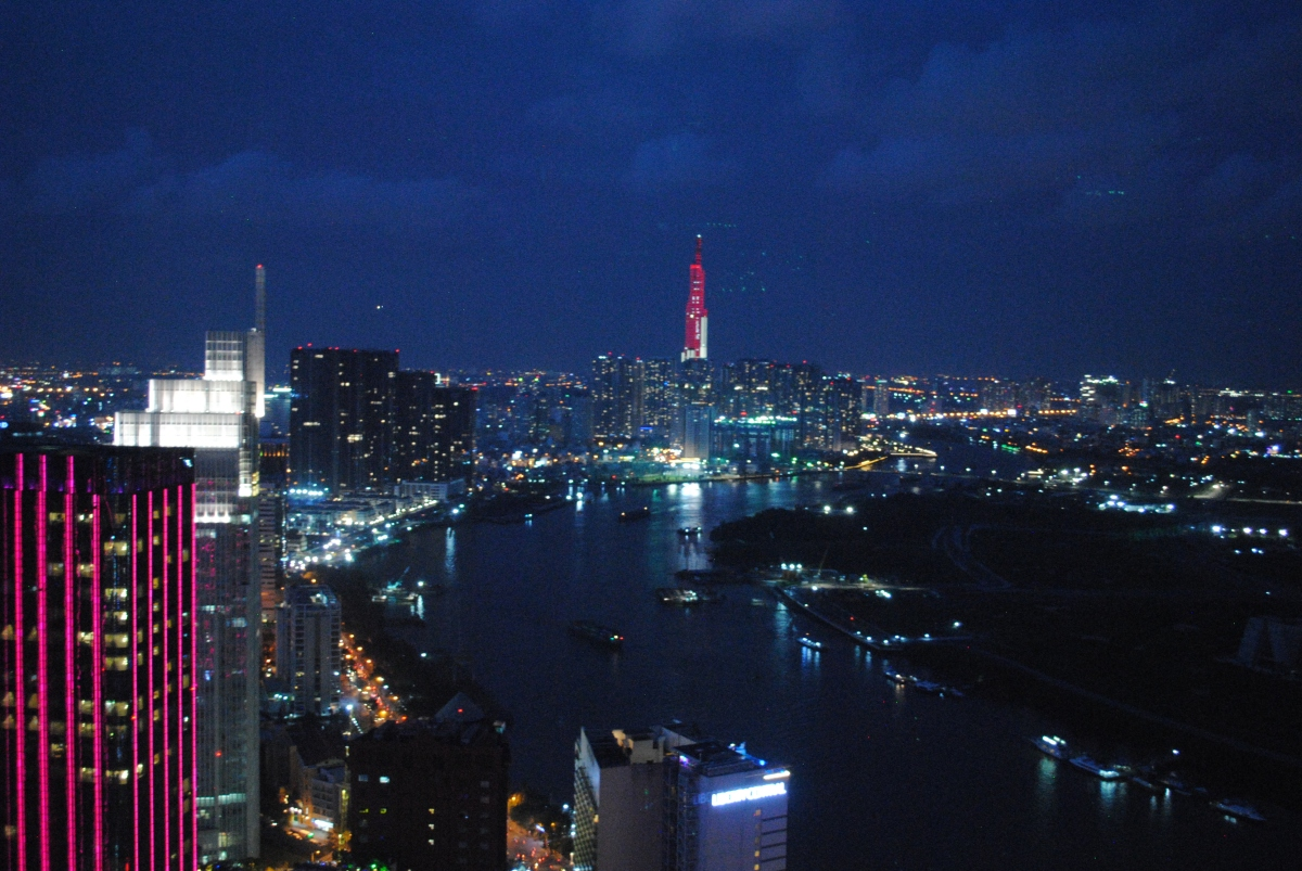 Night View from Bitexco Financial Tower 2