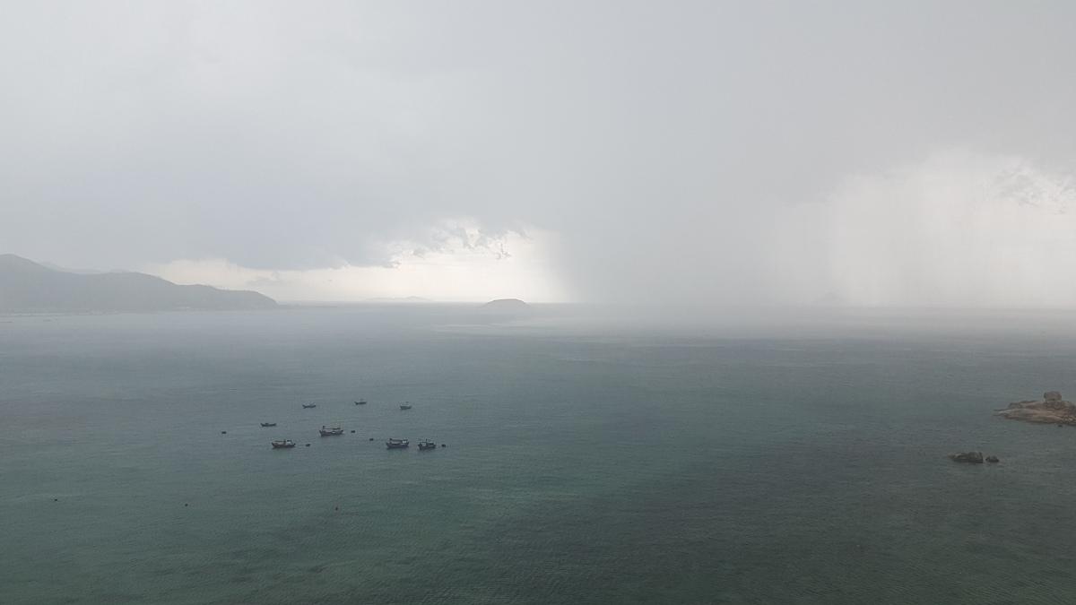 Grey Skies in Nha Trang