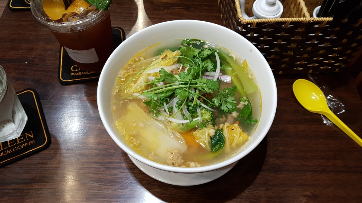 Pork and Noodle Broth